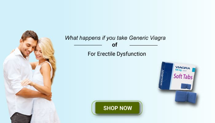 What happens if you take Generic Viagra daily