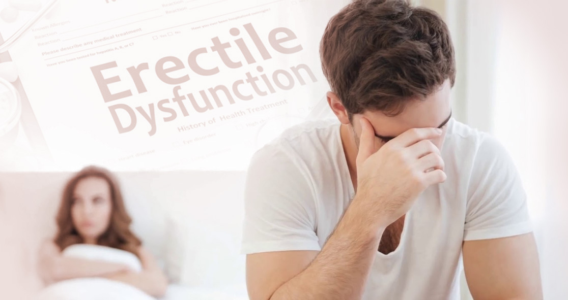 Why Erectile Dysfunction Can Affect Men?
