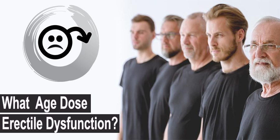 What Is the Average Age for Erectile Dysfunction?